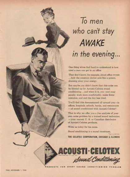 Acousti Celotex Sound Conditioning (1948)