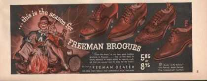 This Is the Season Freeman Brogues Shoe (1941)