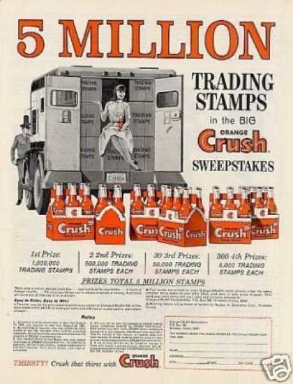 Orange Crush Beverage (1965)