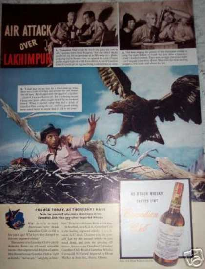 Eagles Nest Canadian Club Whiskey (1941)