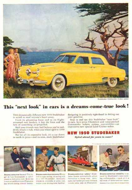 Studebaker CAR – Commander – Yellow (1950)