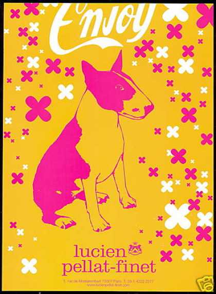Lucien Pellat Finet English Bull Terrier Dog (2000)