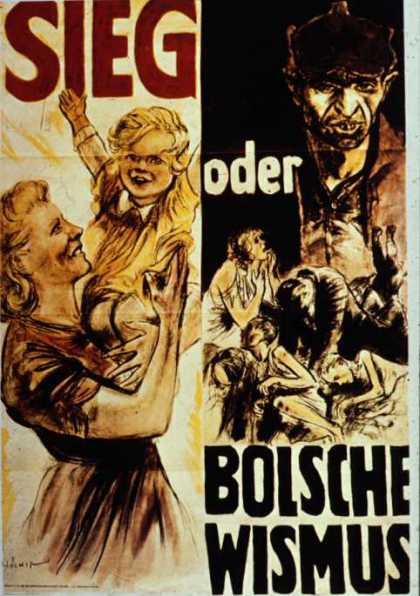 Victory or Bolshevism poster