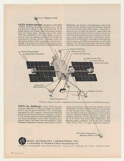 STL Space Technology Laboratories OGO Satellite (1962)