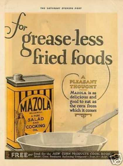 Mazola Cooking Oil (1925)