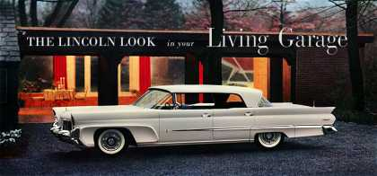 Lincoln Premiere four-door Landau (1958)