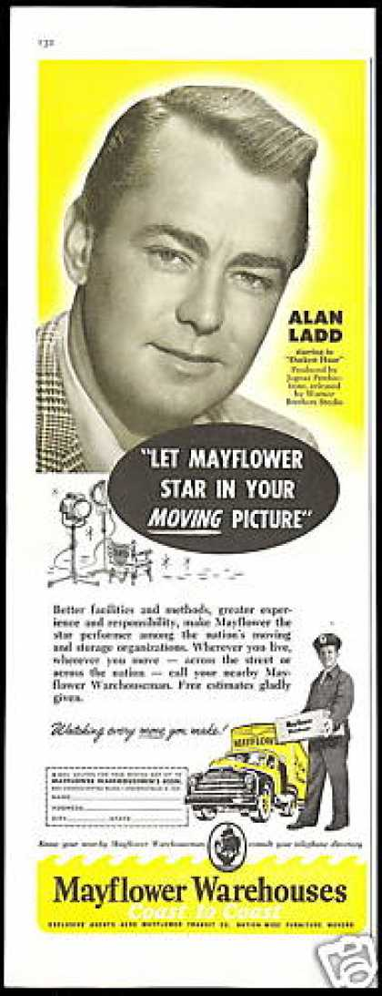 Alan Ladd Mayflower Moving Transit Warehouses (1956)