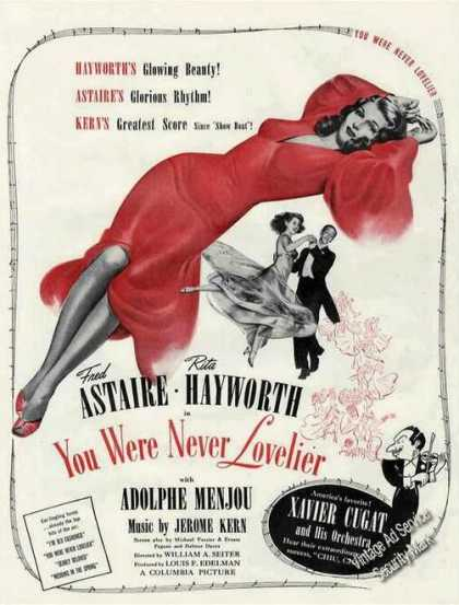 """You Were Never Lovelier"" Movie (1942)"