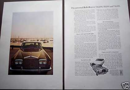 Rolls Royce Silver Shadow 2pg Car (1970)