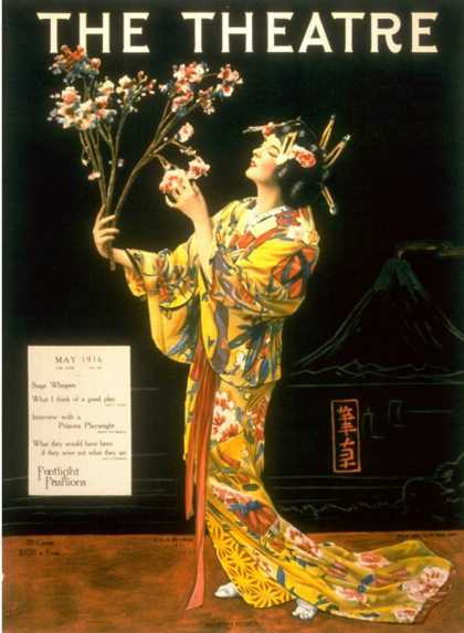 The Theatre, Japanese Geishas, USA (1920)