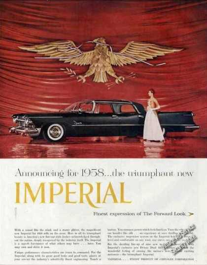 "Chrysler Imperial ""Expression of Forward Look"" (1958)"