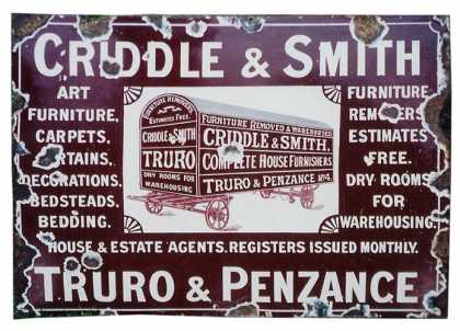 Criddle & Smith Furniture Removals Sign