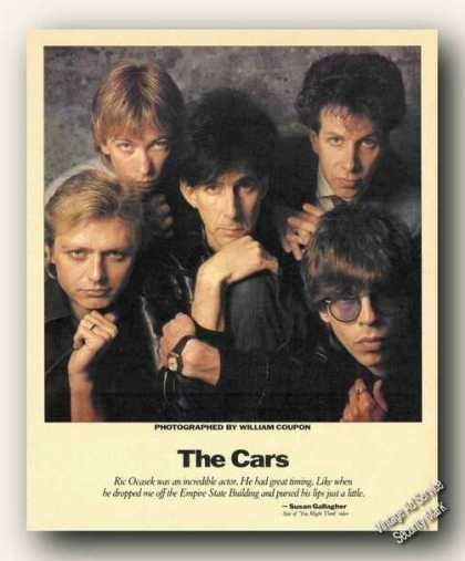 The Cars Picture Magazine Print Feature (1984)