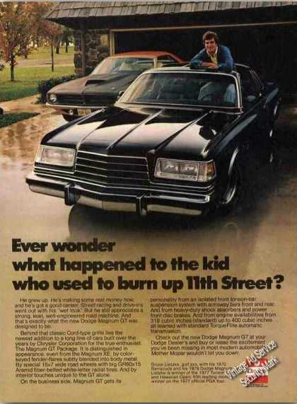 Dodge Magnum Gt Collectible Car Photo (1978)