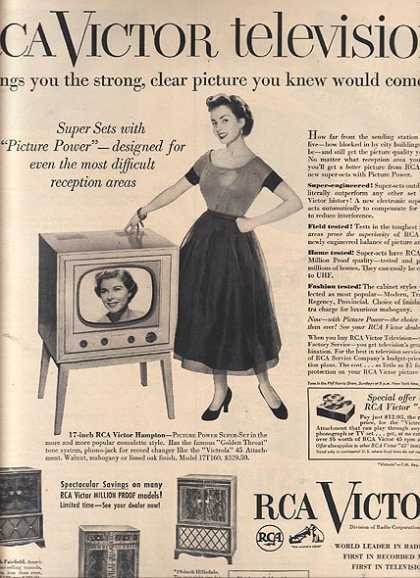 RCA Victor's Television Sets (1951)