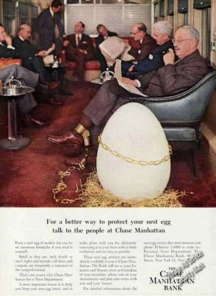Chase Manhattan Bank Clever Nest Egg Theme (1956)
