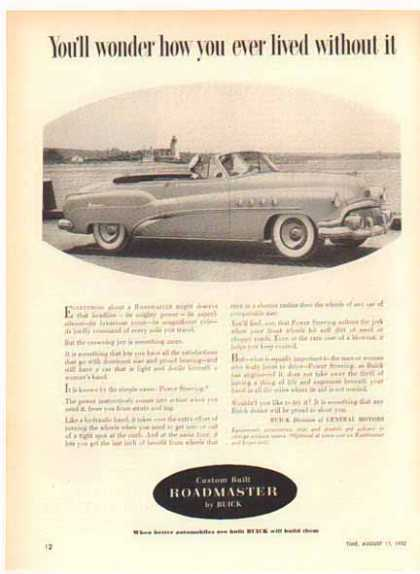Buick Roadmaster Car (1952)