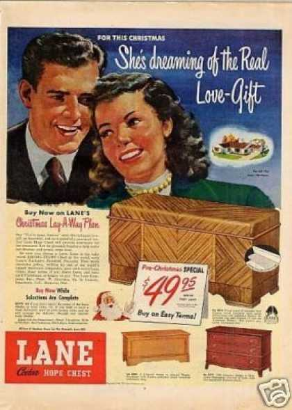 Lane Cedar Hop Chest (1948)
