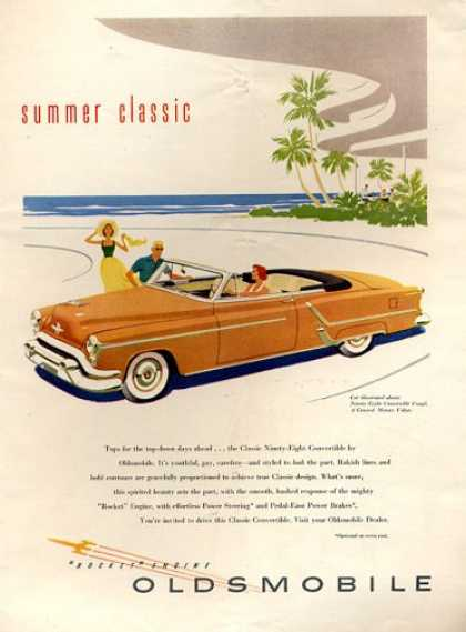 Oldsmobile Convertible 98 Coupe Beach (1953)