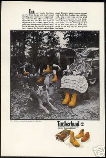Timberland Boots Family Shoe Business Photo (1977)