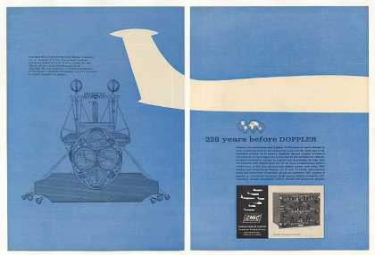 CMC Canadian Marconi Co Aircraft Doppler 2-Page (1963)