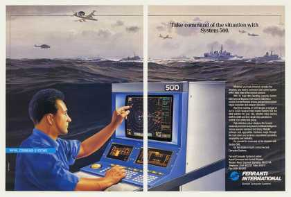 Ferranti System 500 Naval Command Computer (1989)