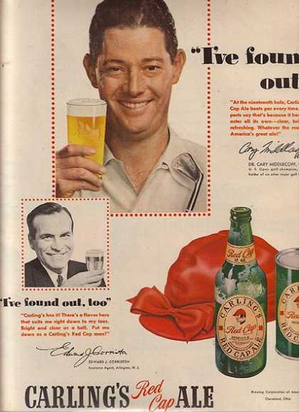 Red Cap Ale – Carling's (1950)