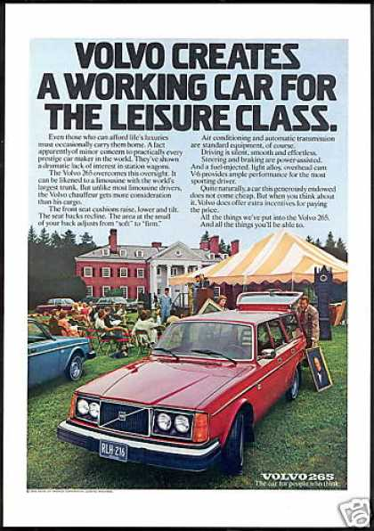 Volvo 265 Station Wagon Car Photo Vintage (1976)