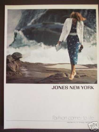 Jones New York Fashion Comes To Life Photo (1979)