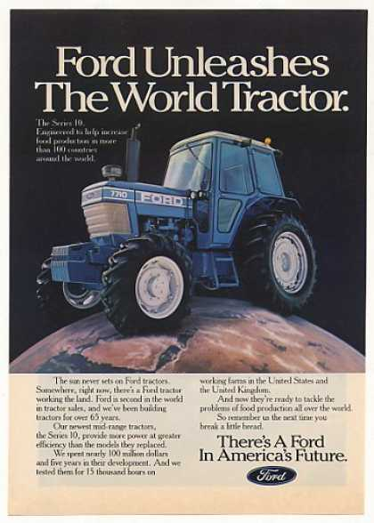 Ford 7710 World Tractor Photo (1982)