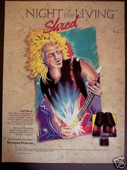 Night of the Living Shred Seymour Duncan Pickup (1988)