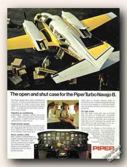 Piper Turbo Navajo B Photos Airplane (1971)