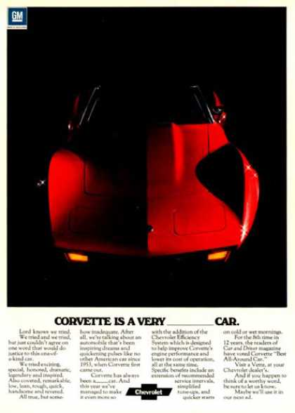 Chevrolet Corvette Convertible (1975)