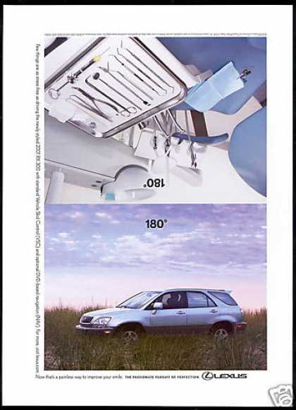 Lexus RX-300 SUV Dentist Chair Photo (2001)