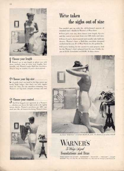 Warner's Foundations Corsett Girdle (1949)