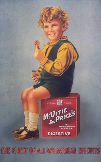 McVitie's, Biscuits, UK (1930)