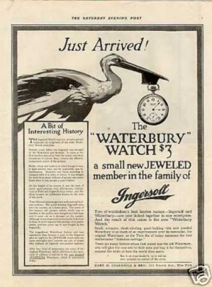 Ingersoll Waterbury Watch (1916)