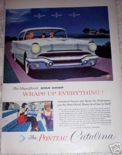 Pontiac Star Chief Catalina Car (1956)
