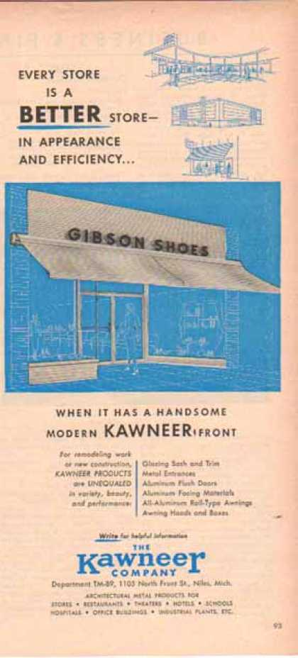 Gibson Shoes Store – Kawneer Company – Sold (1951)