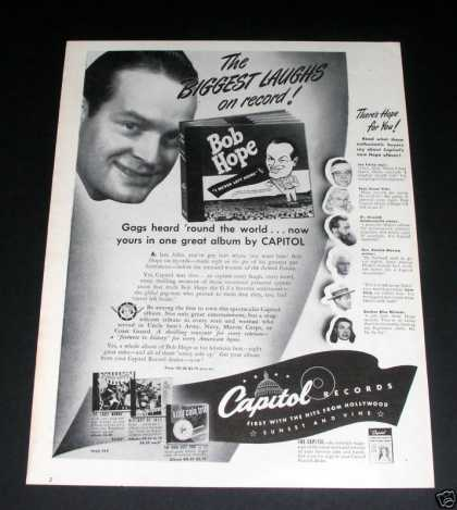Capitol Records, Bob Hope (1946)