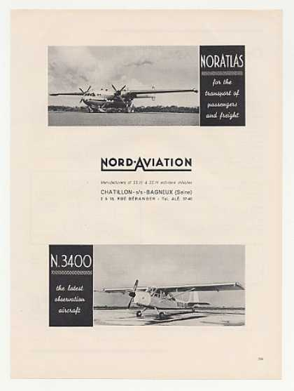 Nord Aviation Noratlas N3400 Aircraft Photo (1960)