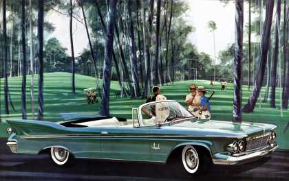 Imperial Crown Convertible Charles 			Schridde (1961)