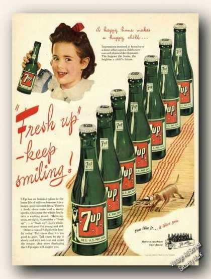 7up Happy Home Makes Happy Child (1945)