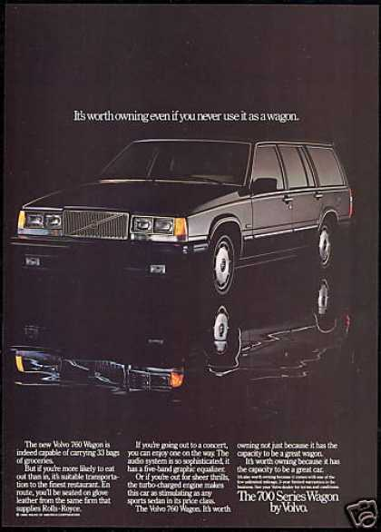 Volvo 760 Wagon Worth Owning Car Photo (1985)