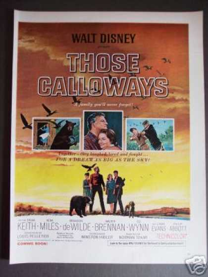 Walt Disney Movie Those Calloways Promo (1965)