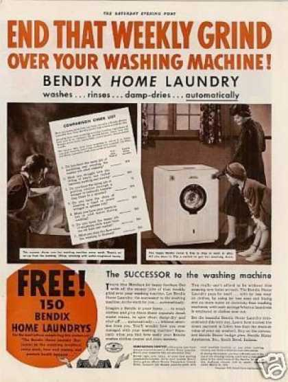 Bendix Washing Machine (1939)