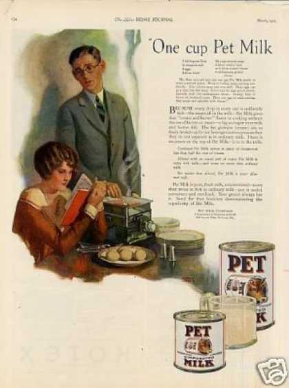 Pet Milk Color (1925)