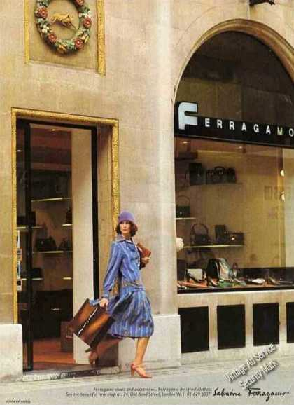 Ferragamo Storefront Photo Uk Fashion (1975)