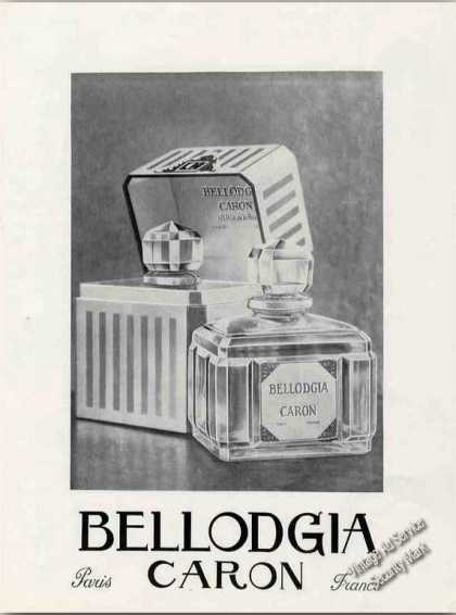 Bellodgia Caron Collectible Antique Perfume (1930)
