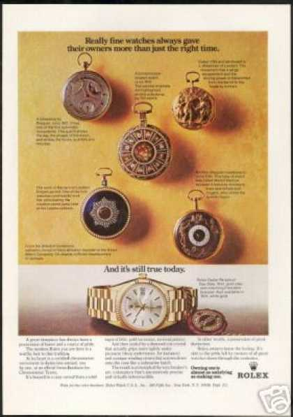 Rolex Day Date Pocket Watch Photos (1973)